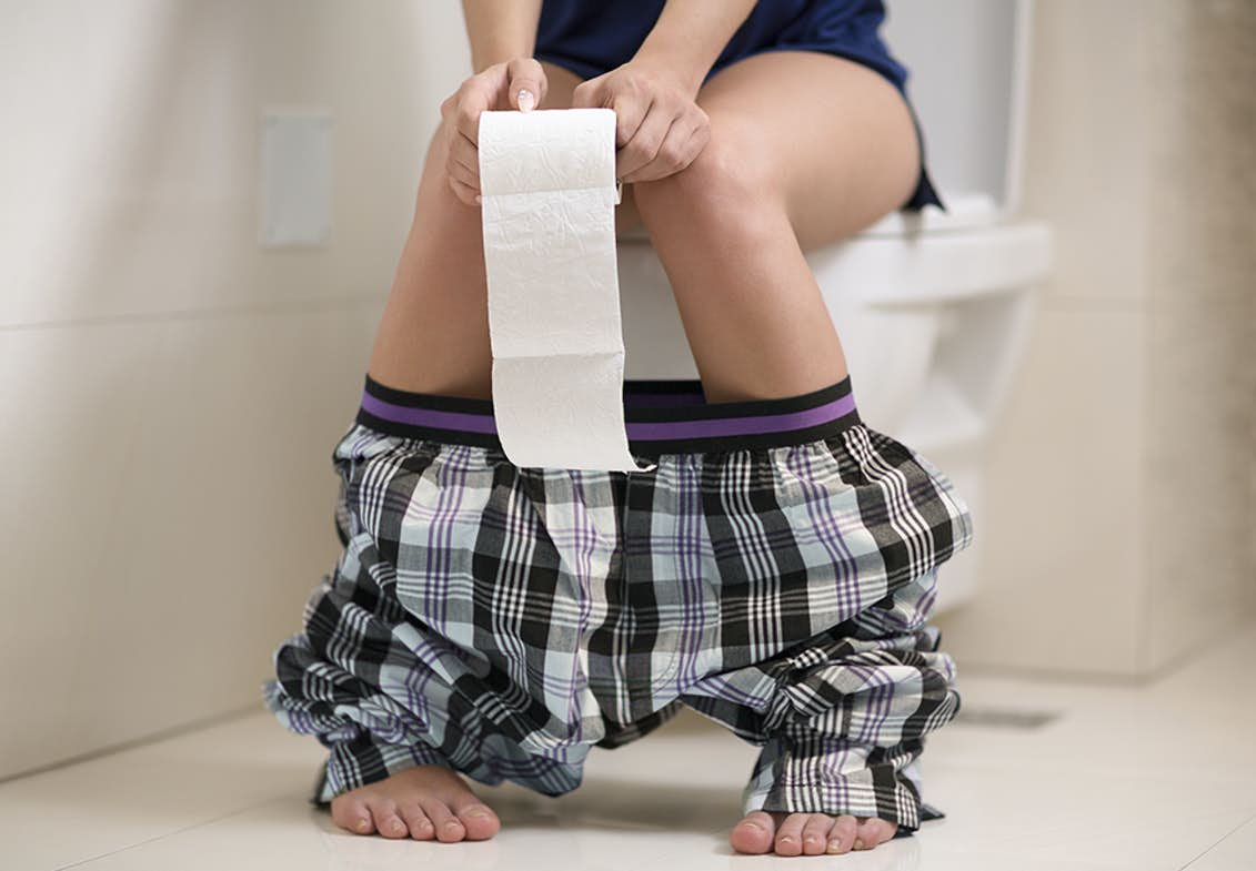 Brunt menstruationsblod MENSTRUATIONSPROPPER: ER