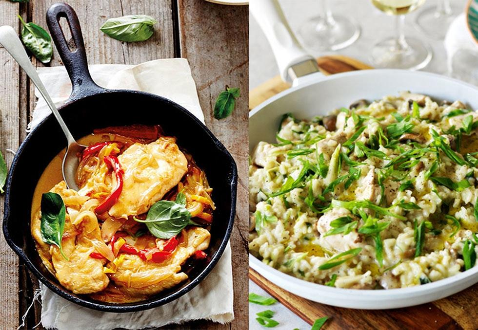 sunne enkle middagsoppskrifter