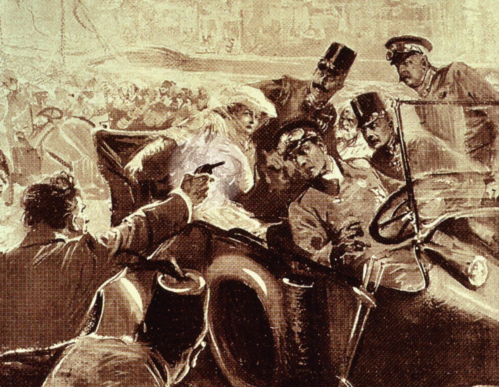 1. verdenskrig: Tidslinje | Historienet.dk