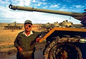 Moshe dayan sexdagarskriget stridsvagn m48 patton 1967 jruly3vmqcxtjoyidixpew