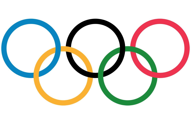 de olympiske ringe farver