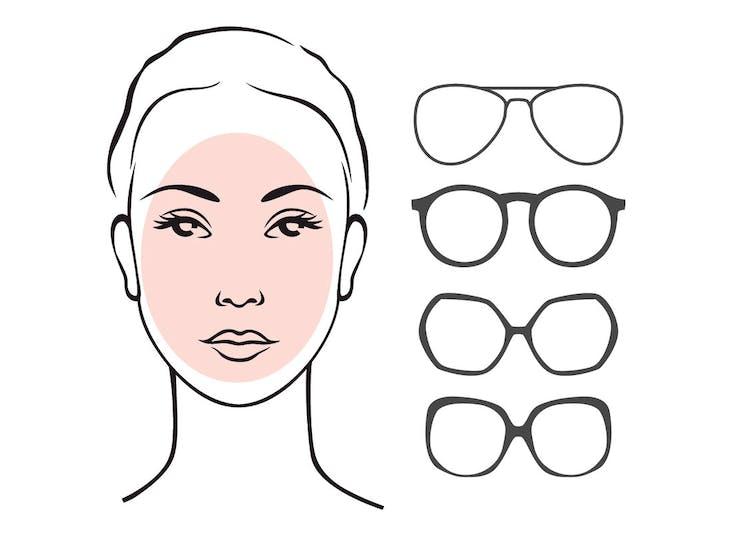 48666043c66b Solbriller til ovalt ansigt