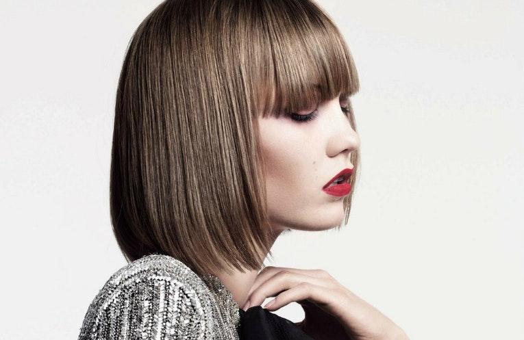 klip dig selv langt hår