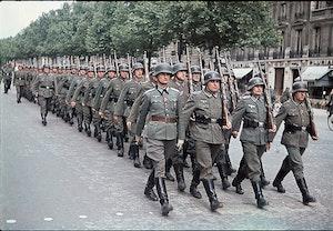 Paris tyskar ockupation marsch 1941 36n3ag09aevtadbrze4bwq
