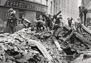 Paskupproret barrikader barn dublin 1916 sg62aas5mlwc1fnxloffea
