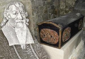 Peder winstrup biskop lund med kista i domkyrkan cn3oeennrhnc8ukydcshxg