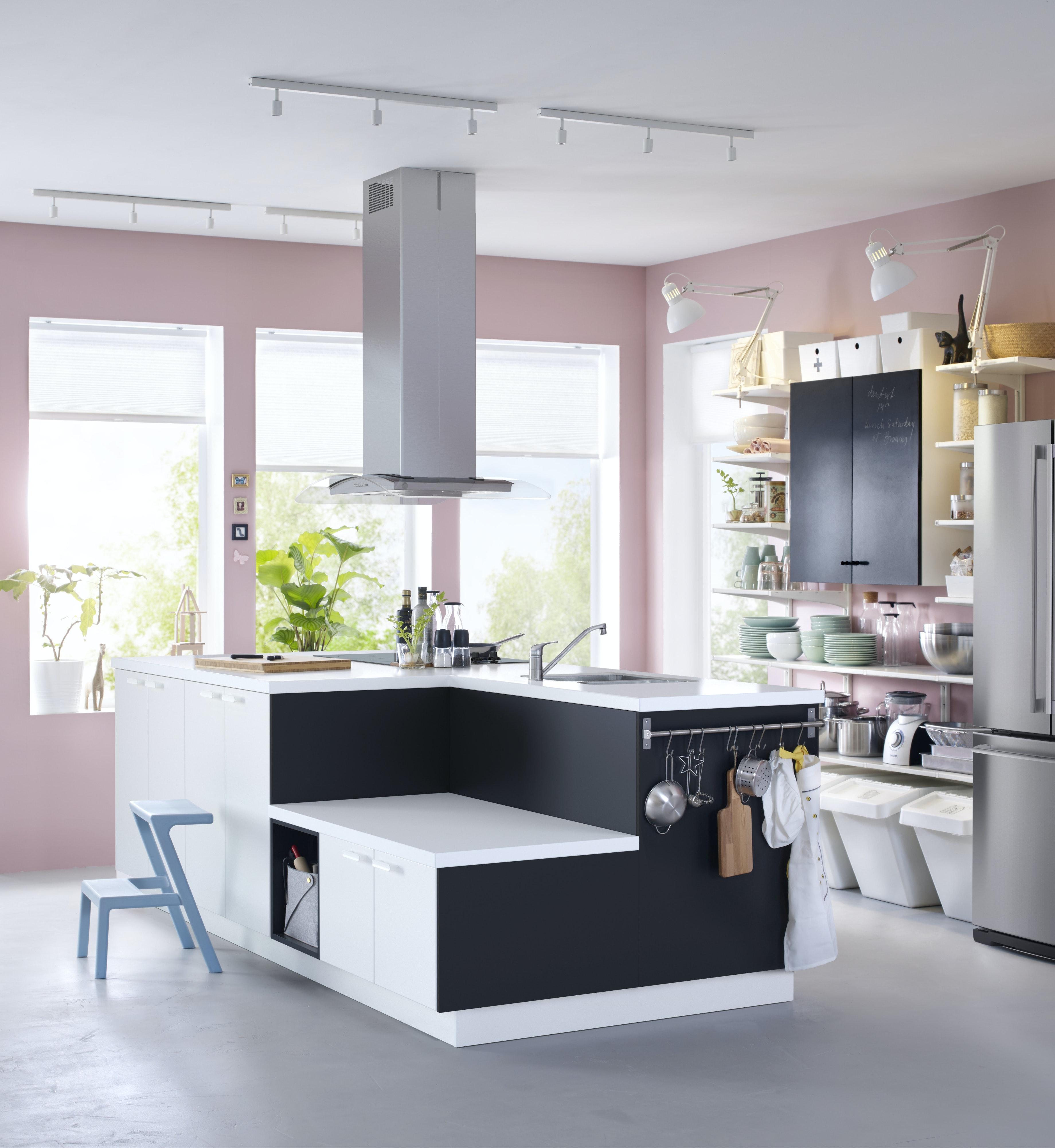 kjøkken ikea grå