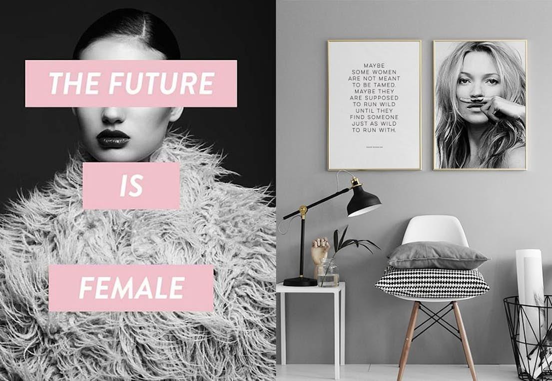 Modish Her kjøper du plakater på nett. | Stylista.no CF-93