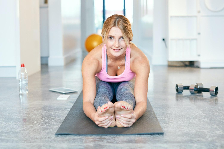 ned i vekt med yoga