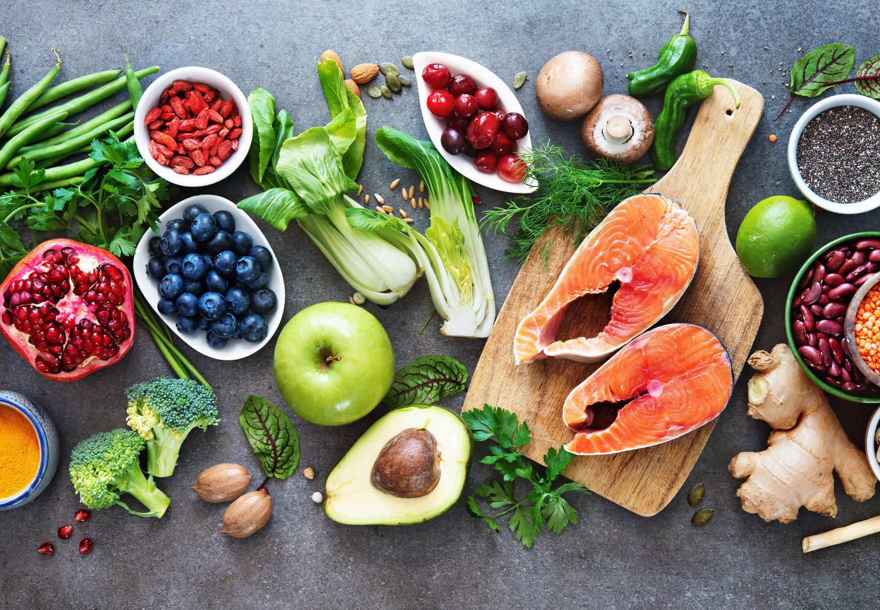 enkel proteinrik mat