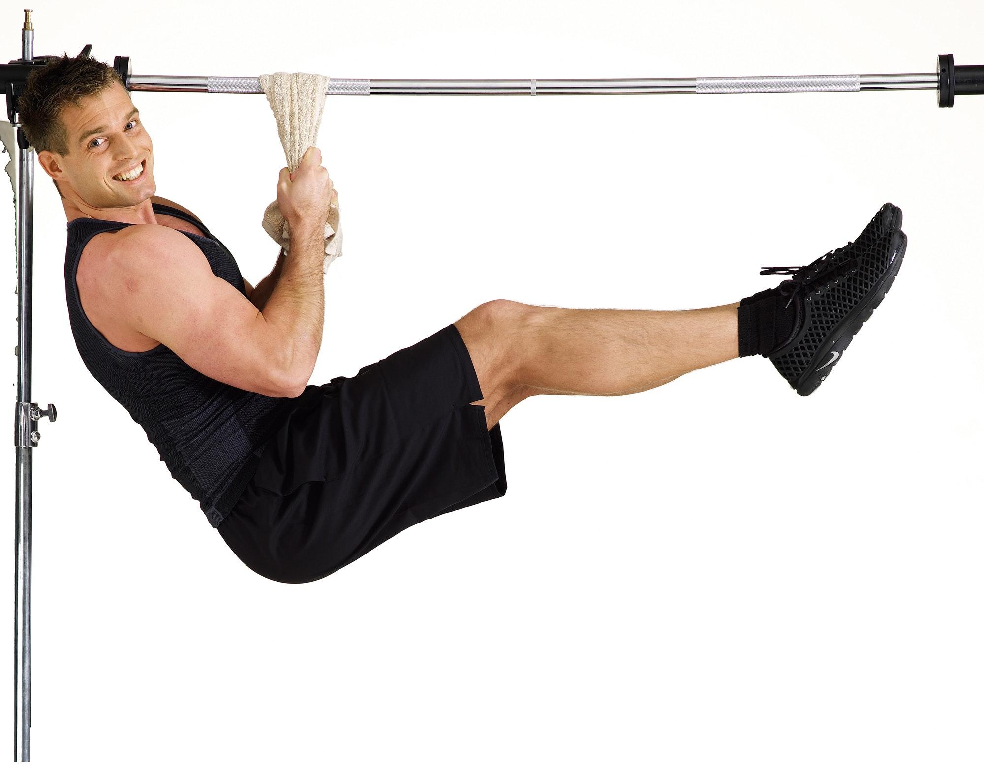 fitness stang til dør