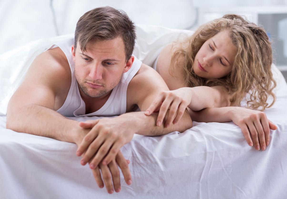 Stor penis og lille vagina