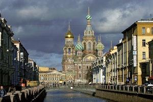 Resmal sankt petersburg uppstandelsekyrkan ryssland w5sntimvackenyo0nn150w
