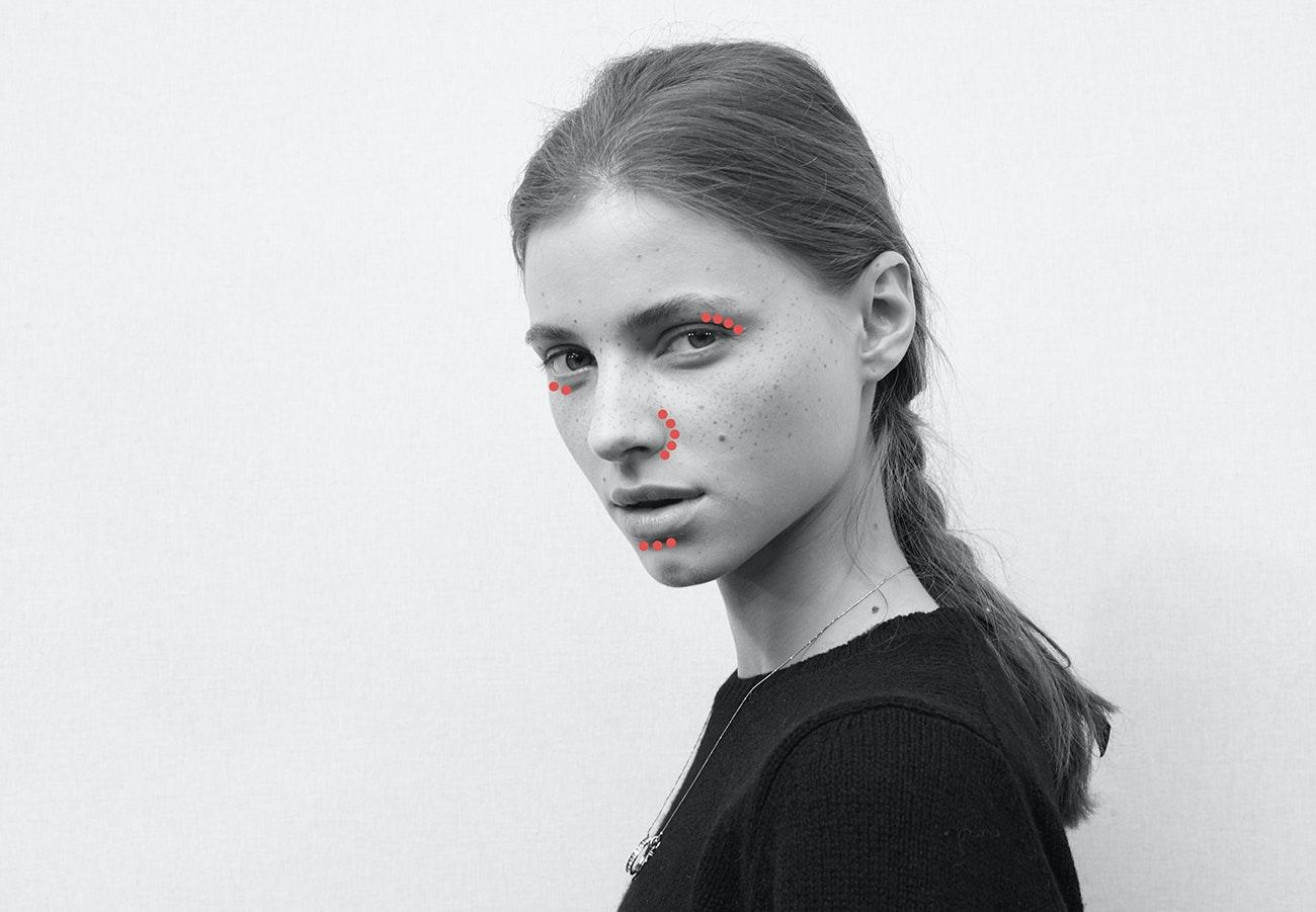 tørr og rød hud i ansiktet
