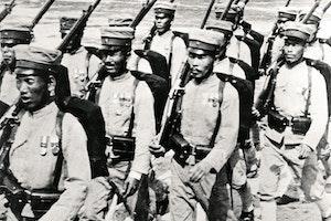 Ryskjapanska kriget japanska soldater marscherar atya9 9 w1ug phdh20etg
