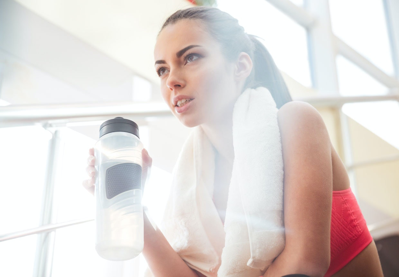 vad ska man dricka under träning