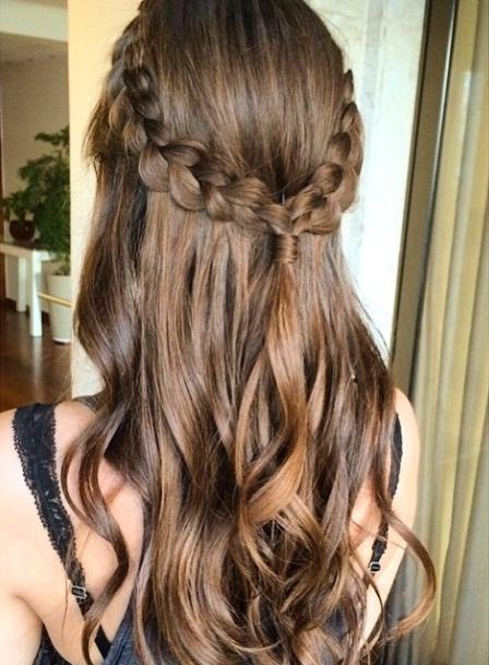 håroppsett langt hår