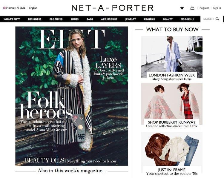 a2f2545f4dd Tøj online - de 6 bedste webshops til luksus shopping   Costume.dk