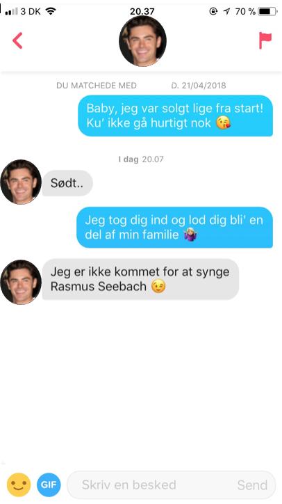 dating samtale Gratis dating Rusland