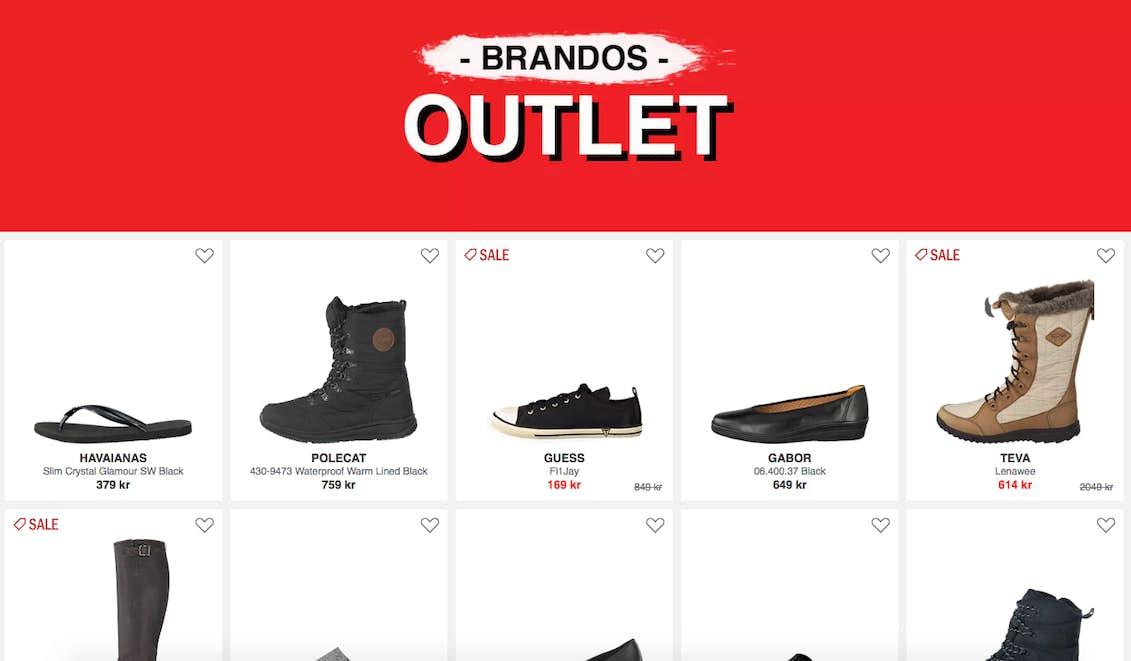 Fine og billige sko på nett | Costume.no