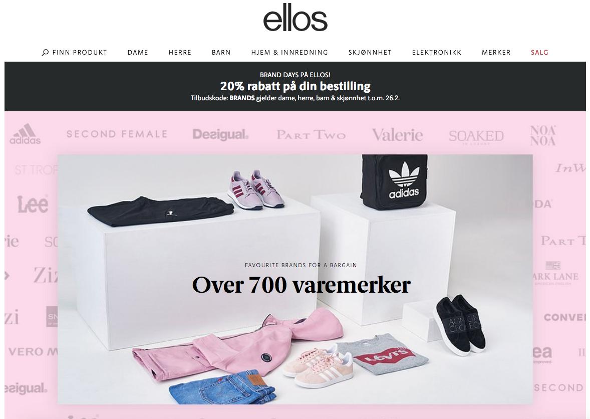 billige nettsider klær