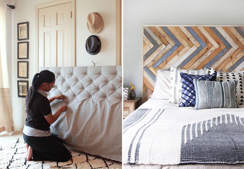 hjemmelavet sengegavl Hovedgærde | 13 sengegavle, du nemt og billigt kan lave  hjemmelavet sengegavl