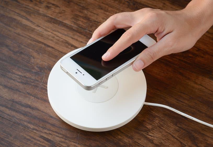 Trådløs lader for iPhone X XR XS Max 8 USB trådløs lading