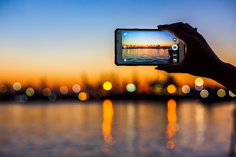 Sa tar du battre bilder med din mobil