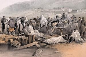Sjuka soldater embarkeras balaklava krimmkriget xhgw8pvrxthojtpyfr2crg