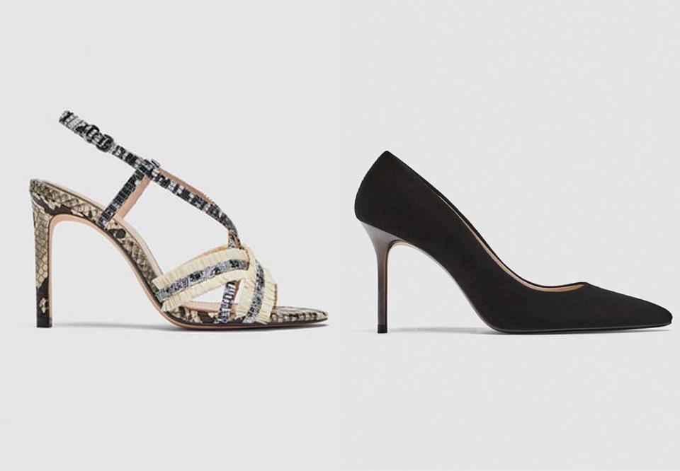 højhælede sko til brede fødder