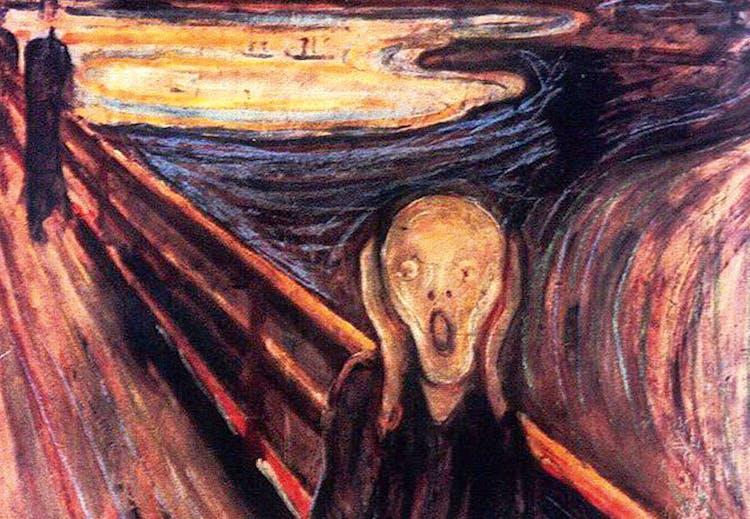 Bildresultat för munch skriet