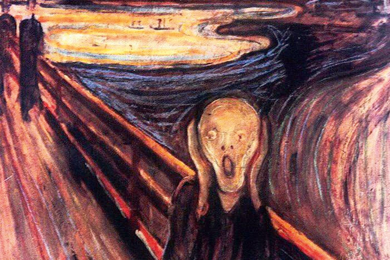 skriget maleri