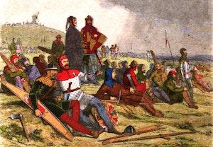 Slaget vid crecy engelska soldater hundraarskriget esque5ut3sm5uh4sqjhsea