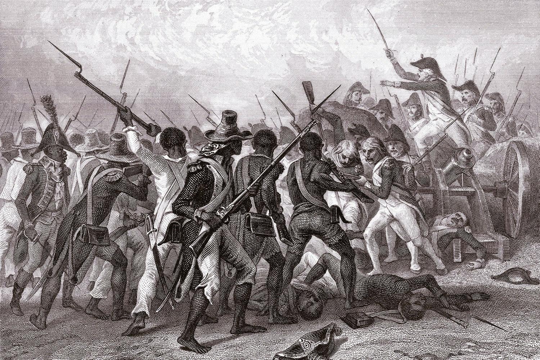 Haitis Slavarme Korde Ut Frankrike Militarhistoria Se