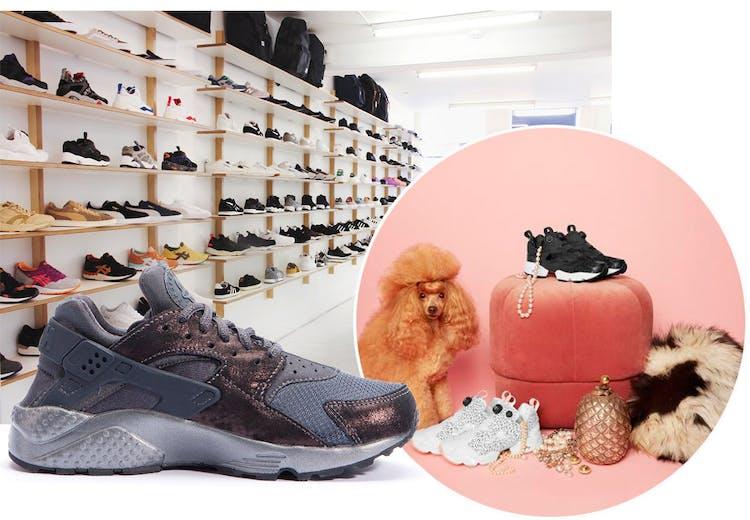 new product 46d1c ae2fe Her skal du shoppe sneakers. © Naked