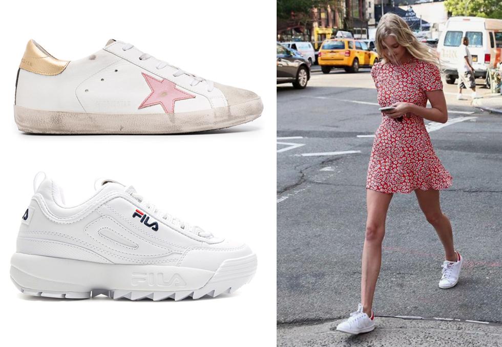 10 kule hvite sneakers | Costume.no