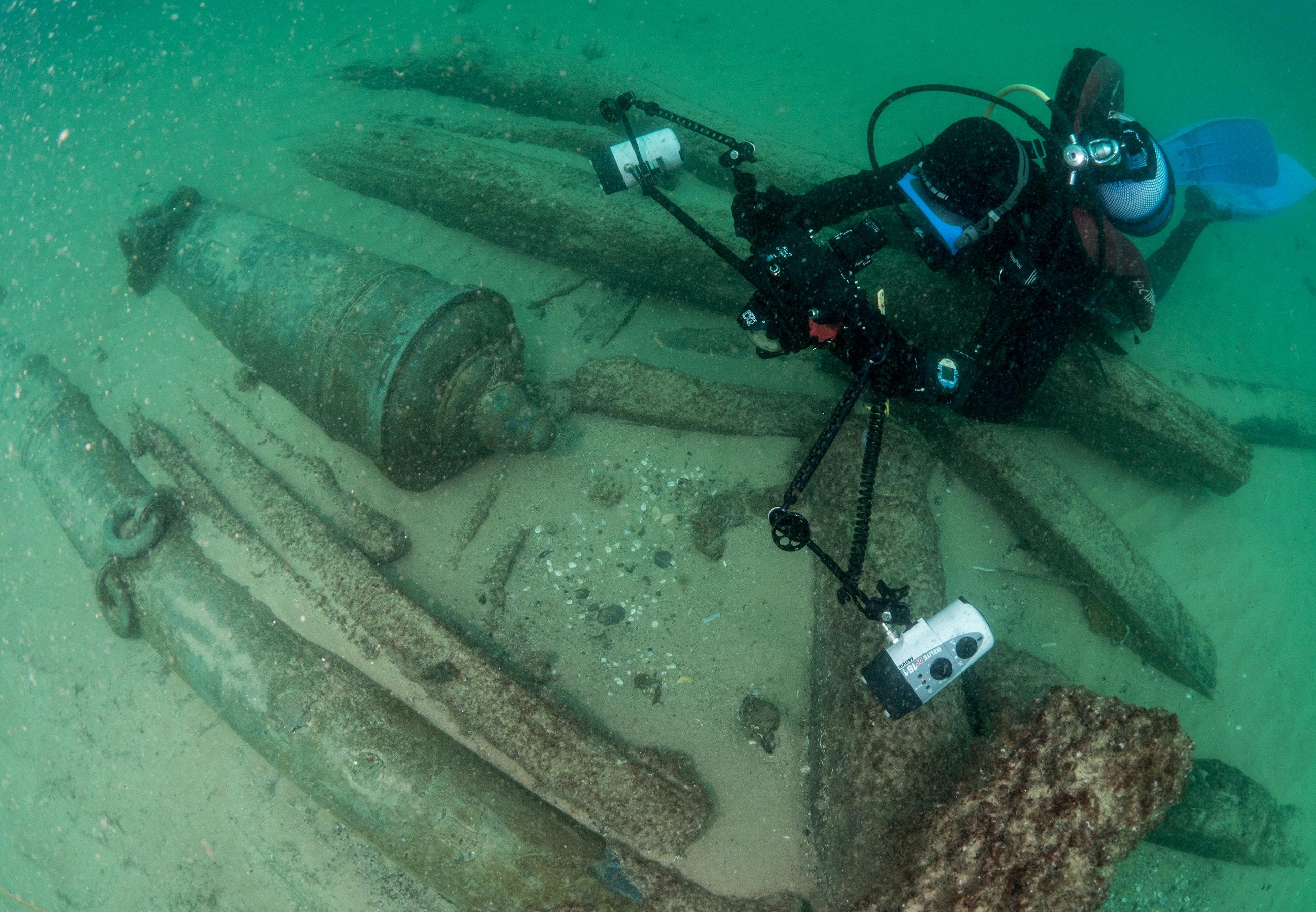 Dykare fann fynd fran 1100 talet