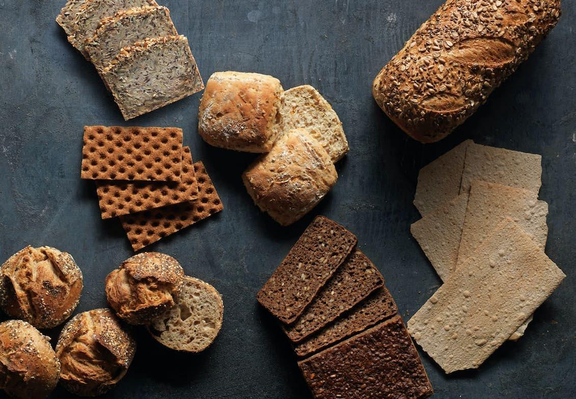 bröd med minst kalorier
