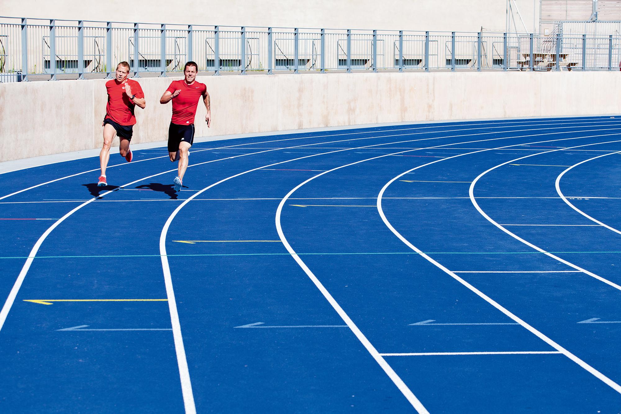 5 km løb på 25 min