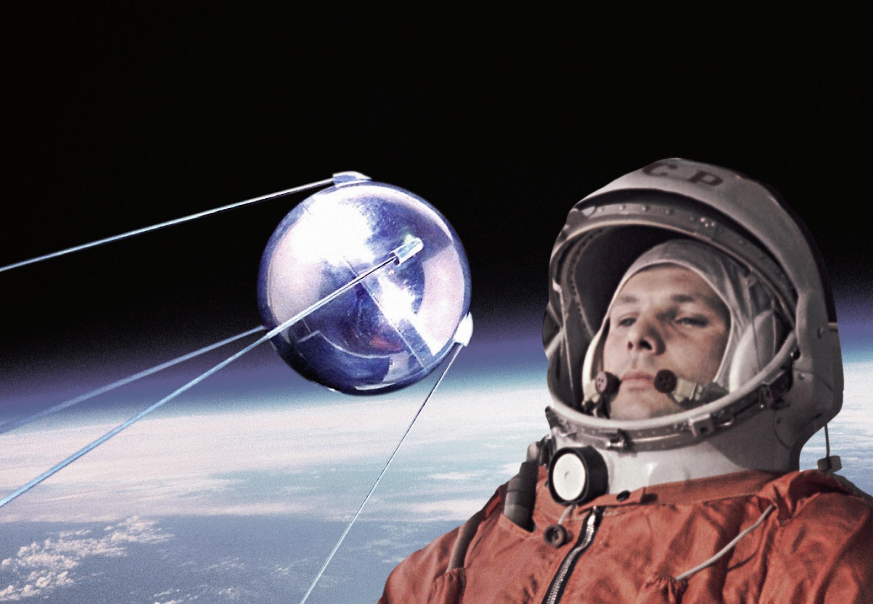 Ryska sputnik visade vagen