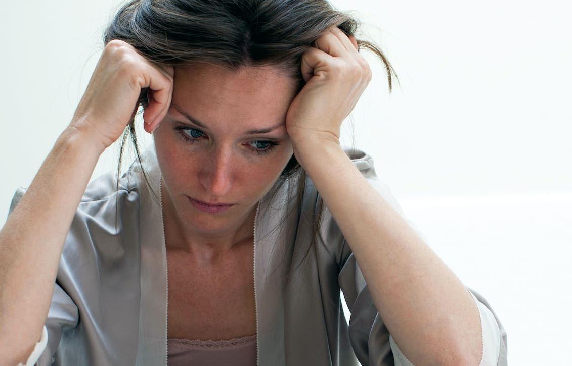 tryck i halsen stress