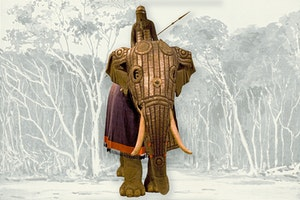 Stridselefant rustning 1500 tal indien vrfuxpg1u71wexfdngzg1g
