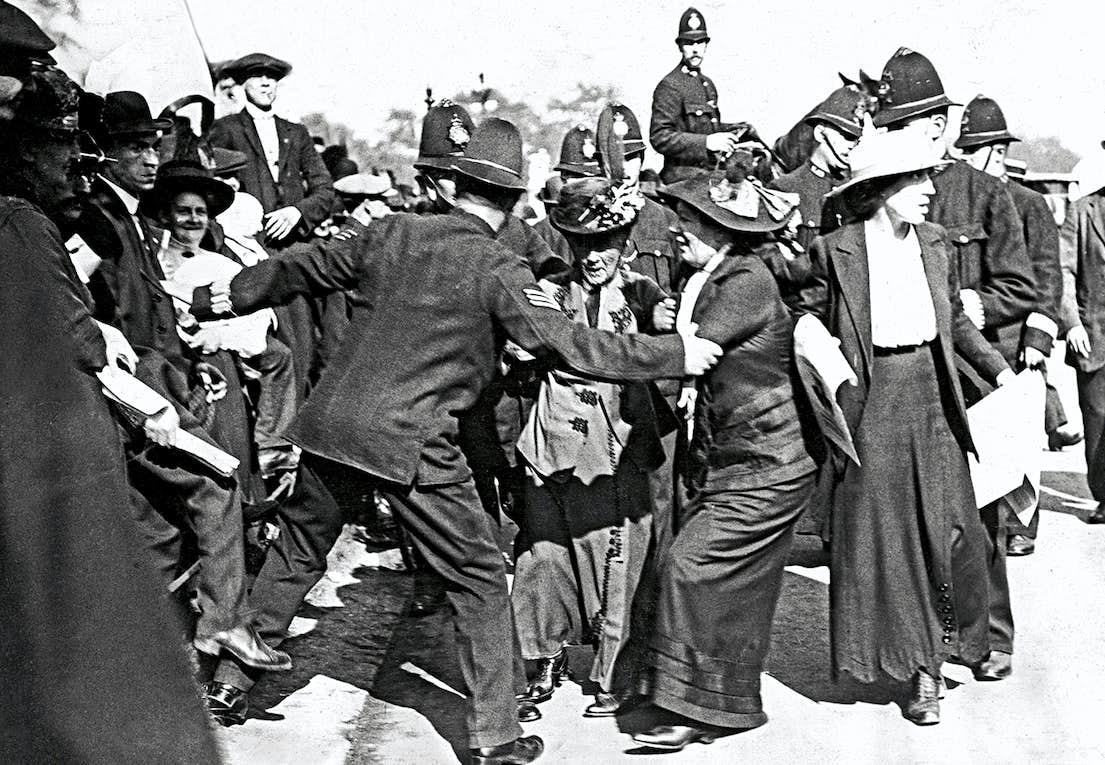 Suffragetterna krävde rösträtt med våld  b2abb83509956
