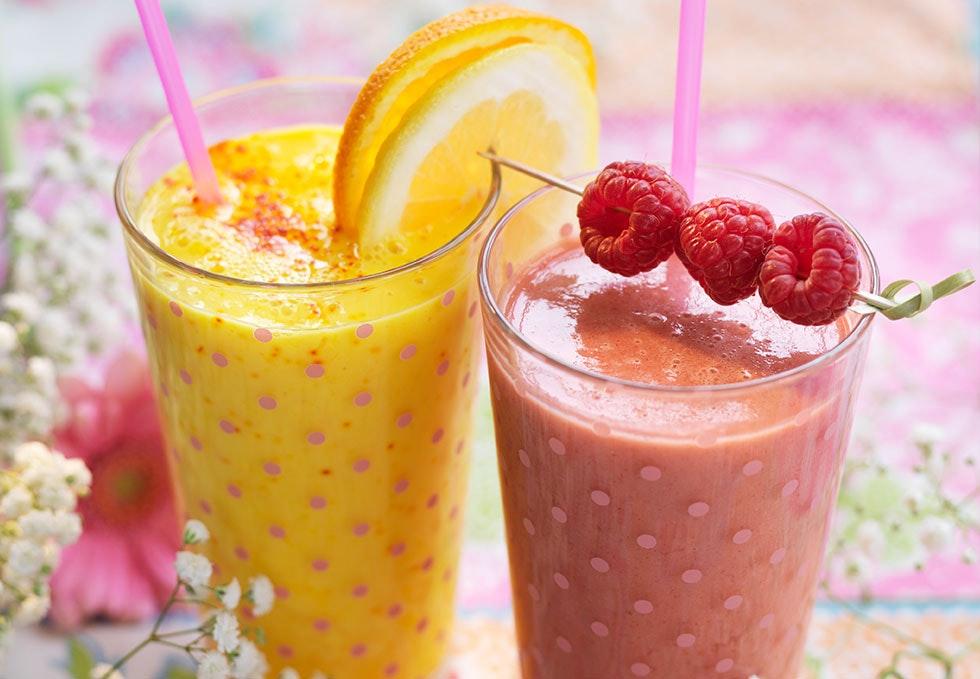 sunn smoothie med lite kalorier
