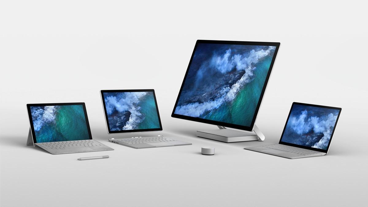 Microsoft Surface Book 2 Testsonen
