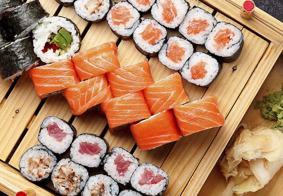 kan man fryse sushi
