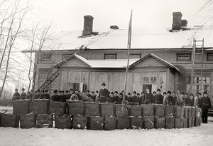 Svensk militar haraldsby aland under expeditionen  1918 kxmuhds2xpuryjyb1sotgq