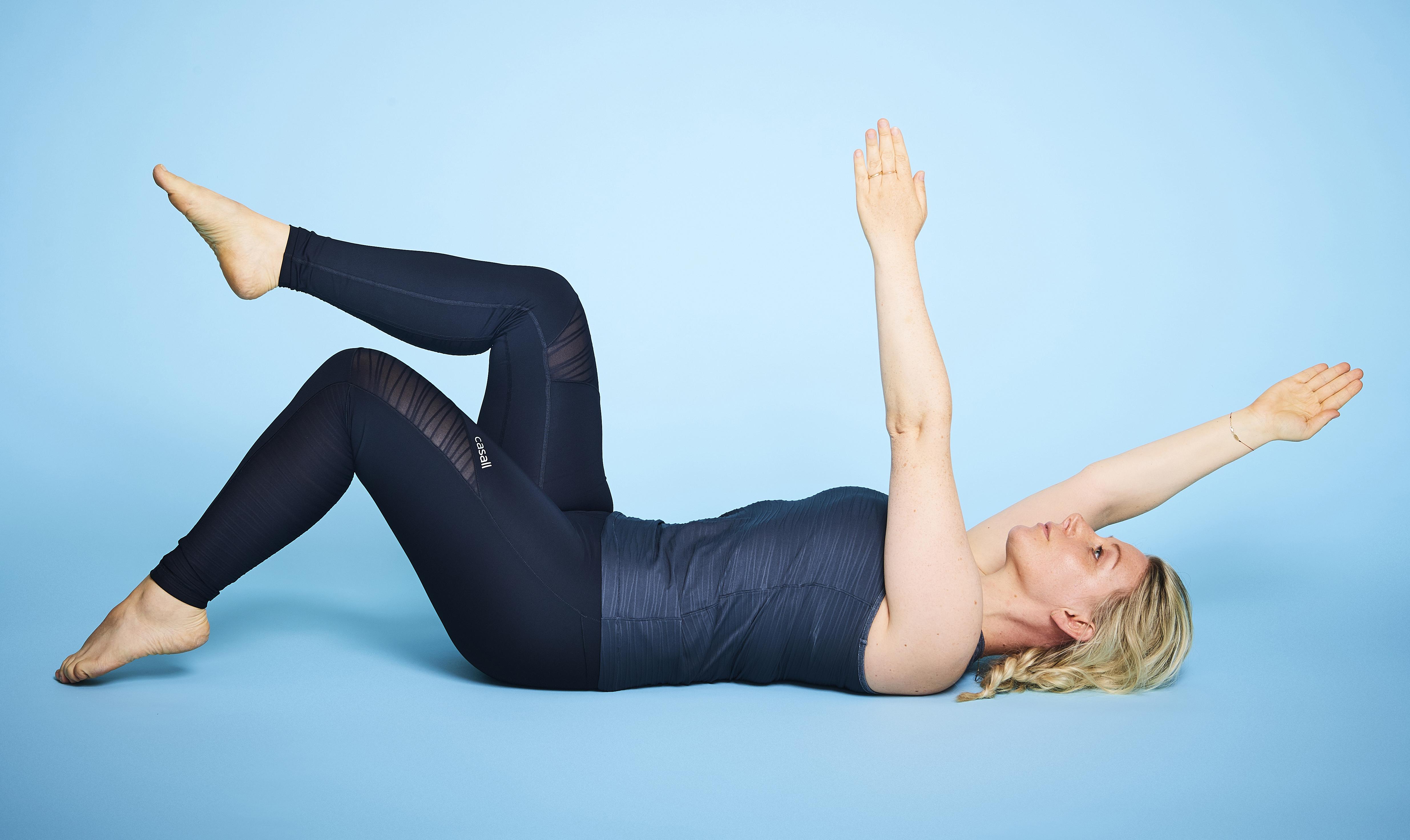 övningar för platt mage