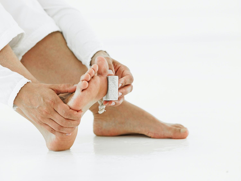 hård bule under foden