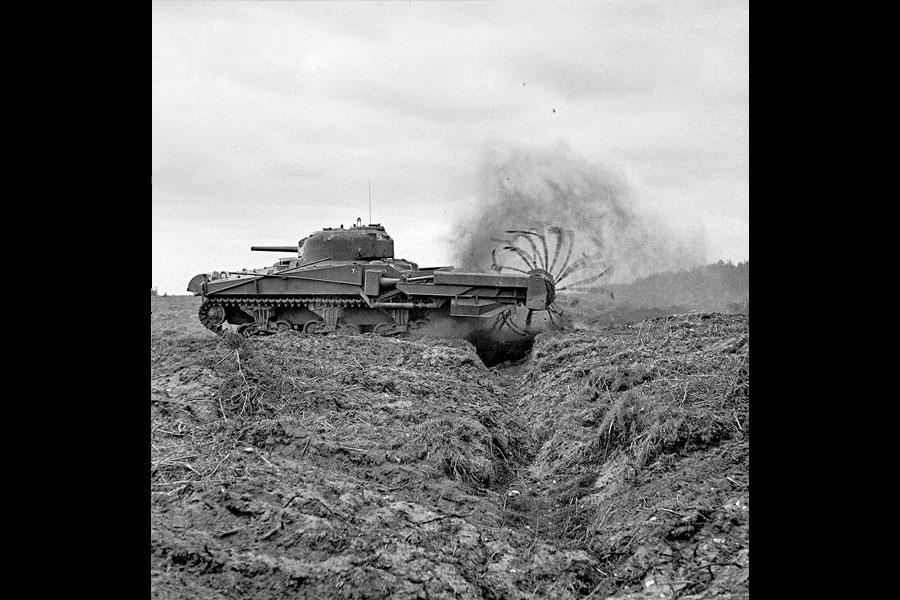D day speciale tanks maakten invasie mogelijk for Door 7 days to die